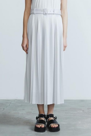 MIDDLE PLEATED SKIRT