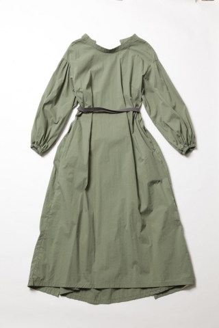 Back cache-coeur Dress / Khaki