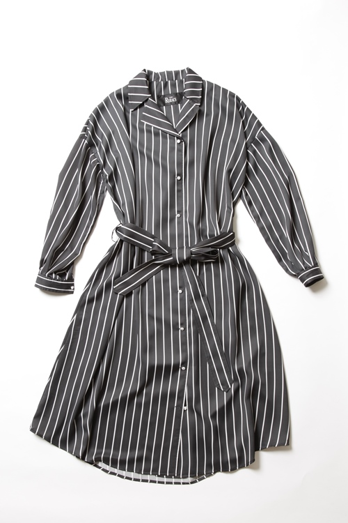 PE LONG SHIRTS GOWN / STRIPE