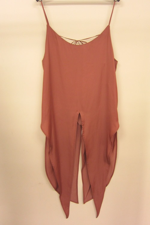 Runny camisole / TERRACOTTA