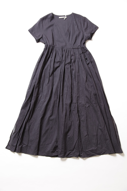 CTN VOIL SSL GOWN / NAVY
