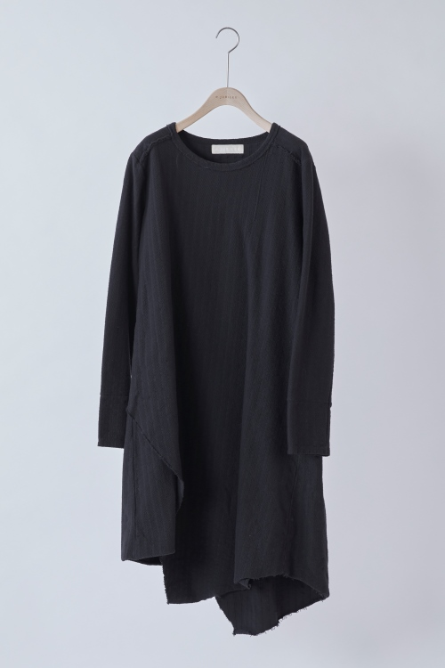 Asymmetry Tunic / BLACK