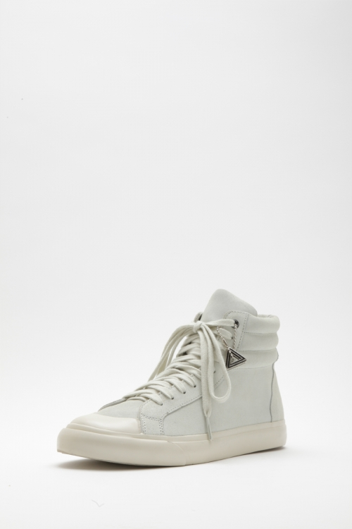 Athletic High / CowSplit (suede) / White