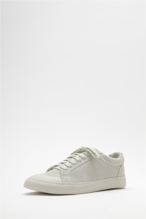 Athletic Low / CowSplit (suede) / White