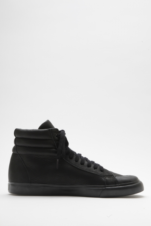 Athletic High / Nappa / Black