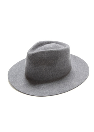 WOOL FELT HAT 7.0 / MD GRY