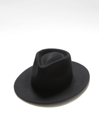 WOOL FELT HAT 7.0 / BLACK