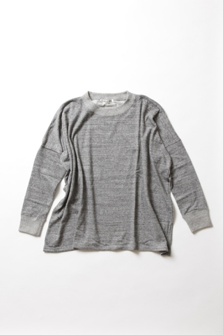 SWEAT PULLOVER / GREY