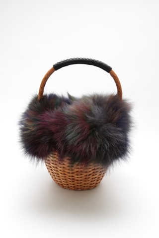 FUR BASKET / Multi